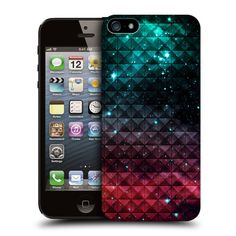 HEAD-CASE-PRINTED-STUDDED-OMBRE-PROTECTIVE-BACK-CASE-COVER-FOR-APPLE-iPHONE-5-5S