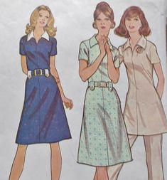 Vintage Mccalls 3101 Easy Sewing Pattern 1972