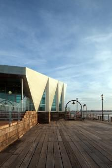 Southend Pier Cultural Centre by White arkitekter AB