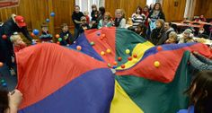 Kids celebrate early 'Noon Year's Eve' party (photos) - News - The Charleston Gazette - West Virginia News and Sports - New Years Traditions, Main Library, Gross Motor Activities, Nye Party, New Years Eve Party, Party Photos, West Virginia, Charleston, Bean Bag Chair