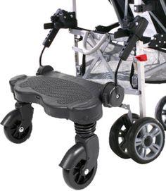 OBaby Kiddie Ride-On Board - Black image