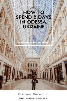 How to spend 2 days in Odessa, Ukraine. Beautiful architecture, many great restaurants, friendly cats and it had beaches. Might be one of the best destinations in Europe. #Odessa #Ukraine
