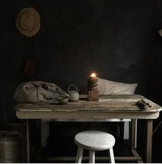 For some rustic simplicity and pared back inspiration check out this House of Instagram, a visual feast. Full of hand made objects that treasured for ever rather than thrown away when the next trend appears, there is so much to treasure in the imperfections of lovingly crafted items of this home. Take a look! #rustic #decor #interior #black #wood #kitchen