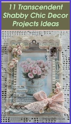 Shabby Chic Bedroom Set | 11+ Transcendent Shabby Chic Decor Projects Ideas. Here are some awesome shabby chic bedroom decorating ideas for the inspir... Bureau Shabby Chic, Canapé Shabby Chic, Tissu Style Shabby Chic, Shabby Chic Karten, Rideaux Shabby Chic, Shabby Chic Stoff, Shabby Chic Tapete, Shabby Chic Zimmer, Shabby Chic Office