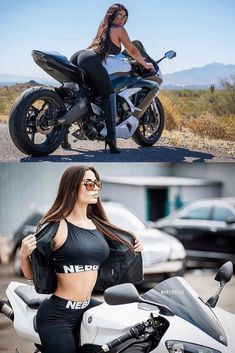 (notitle) - Girl and Bike - Motociclisti Dirt Bike Girl, Lady Biker, Biker Girl, Sexy Autos, Motard Sexy, Moto Biker, Motorbike Girl, Ural Motorcycle, Biker Chick