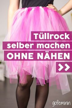Tutu tinker: You can make this tulle skirt yourself without sewing! Make tulle skirt yourself withou Bloom Fashion, Diy Fashion, Womens Fashion, Tutorial Tutu, Tutu Pattern, Pattern Sewing, Hacks Every Girl Should Know, Couture, Social Platform