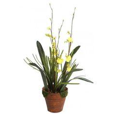 Bonita y elegante Orquidea dancing artificial en maceta. Tiene una altura de 50cm y una anchura de 30cm. Natural, Plants, Fake Plants, Pretty, Elegant, Flora, Nature, Plant, Au Natural