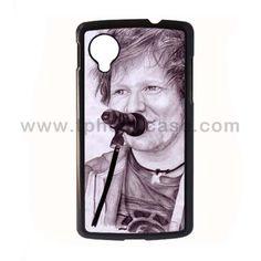 Nexus 5 Durable Hard Case Design With Ed Sheeran