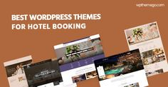 7 Best Hotel Booking WordPress Themes 2021 with Beautiful Designs