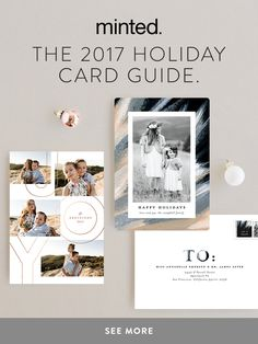 Holiday Photo Cards! Find the perfect holiday card for your style and budget, with luxe paper and printing across our range of formats.