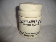 BLANCHFLOWER POT AND LID