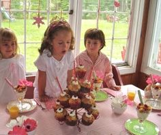Elevating kids' party food