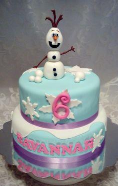 Frozen themed birthday