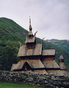 Mormont Hall, Bear Island • Borgund stave church, Norway