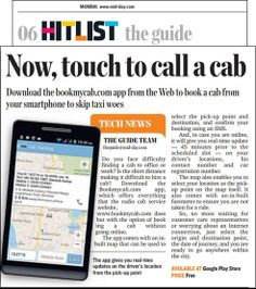 Now, Touch to call a Cab  Download the #Bookmycab #App from www.bookmycab.com/app to book a cab from your smartphone to skip taxi woes  Do you face difficulty finding a cab to office or work? Is the short distance making it difficult to hire a cab? Download Bookmycab App which offers evertything that the radio cab service website, www.bookmycab.com does but with the option of booking a cab without online.