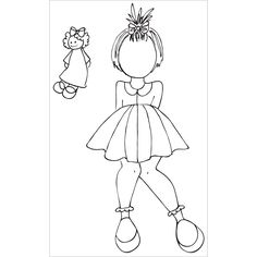 """Prima Marketing Julie Nutting Mixed Media Cling Rubber Stamps 3.5""""X5.5""""-Adara"""