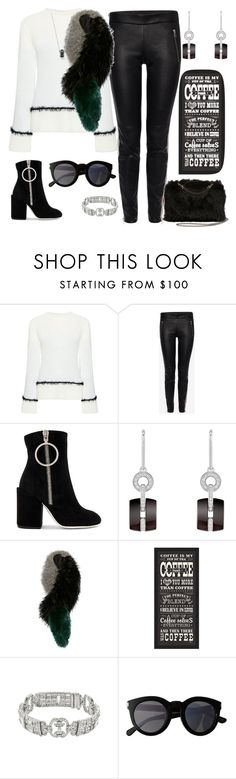 """""""Untitled #239"""" by elsienguyen202 ❤ liked on Polyvore featuring 10 Crosby Derek Lam, Alexander McQueen, Off-White, Chanel, Charlotte Simone, PTM Images, Yves Saint Laurent and STELLA McCARTNEY"""