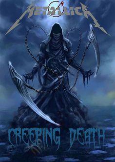 The howl of the Reaper Grim Reaper Art, Grim Reaper Tattoo, Don't Fear The Reaper, Dark Fantasy Art, Fantasy Artwork, Rauch Tapete, Dark Art Tattoo, Dark Souls Art, Fantasy Art