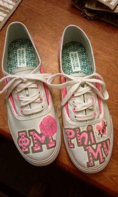 Phi Mu Shoes
