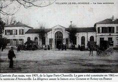 La gare d'Arnouville