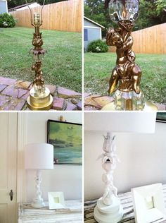 recycle that old weird looking lamp and make it GREAT!