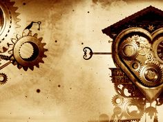 Gears Mechanical Sepia Hearts Fresh New Hd Wallpaper Wallpaper Gallery, Wallpaper S, Steampunk Wallpaper, Steampunk Machines, Steampunk Interior, Steampunk Images, Hd Cool Wallpapers, Android Theme, Modern Victorian