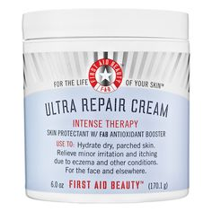 First Aid Beauty's Ultra Repair Cream for the driest of skin. | 26 Holy Grail Beauty Products That Are Worth Every Penny