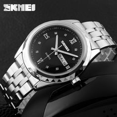 China Wholesale White Steel Strap Hand Watch Cool Zinc Alloy Watch For Men