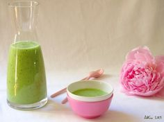 Recette très rafraîchissante smoothie au concombre et aux prunes jaunes, pour se désaltérer et s'hydrater sans prendre de poids