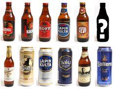 en juo mitään kaljaa Beer Bottle, Drinks, Drinking, Beverages, Drink, Beverage, Cocktails