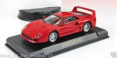 "Ferrari F-40 1:43  supercar Altaya mod&mag № 7 ""Ferrari Collection #Altaya #FerrariF40"
