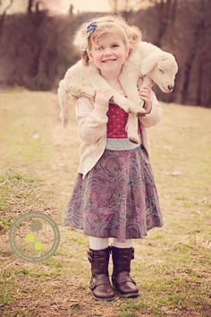 so cute!!!!  love the baby lamb!!!
