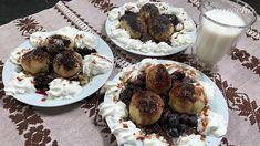 Pohorelské gombovce (videorecept) - recept   Varecha.sk Muffin, Breakfast, Food, Basket, Morning Coffee, Essen, Muffins, Meals, Cupcakes