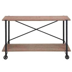 I pinned this Farmhouse Console Table from the Look Linger Love event at Joss and Main!
