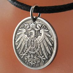 Hey, I found this really awesome Etsy listing at http://www.etsy.com/listing/118705004/antique-german-coin-necklace-10-pfennig