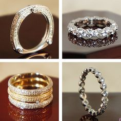 vintage wedding bands rings...top right-gorgeous:)