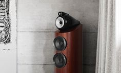 The 803 D3 is a completely new speaker. The most compact headed model Bowers & Wilkins has ever made, it boasts many of the qualities of its larger siblings, but in a room-friendly size.