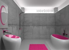 A great interview with Karim Rashid to share with you. The Top Interior Designer Karim Rashid tell us his storylife and some secrets in a interview. Purple Bathroom Interior, Bathroom Furniture Design, Bathroom Interior Design, Bathroom Black, Bathroom Faucets, Pink Furniture, Shiplap Bathroom, Bathroom Small, Bathroom Modern