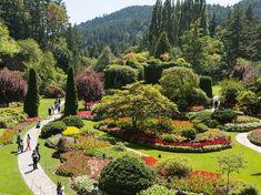 Butchart Gardens, Victoria, British Columbia - Photos of the World's Most Beautiful Botanical Gardens : Condé Nast Traveler