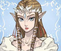 A little late but uh | Hunter x Hunter ♥ The Legend of Zelda