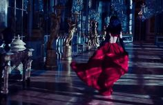 I was running and still I could hear the music in the ballroom and then suddenly I realized that I could not run from something that was true