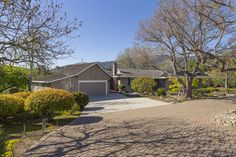 A three car garage plus plenty of room on the driveway allow space for you and your guests to park.