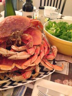 Crab feast at home!