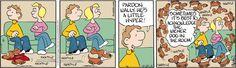 Drabble Comic Strip, October 23, 2012 on GoComics.com  -  drabble dachshund comic.  just like our adhd mini doxie!    lj