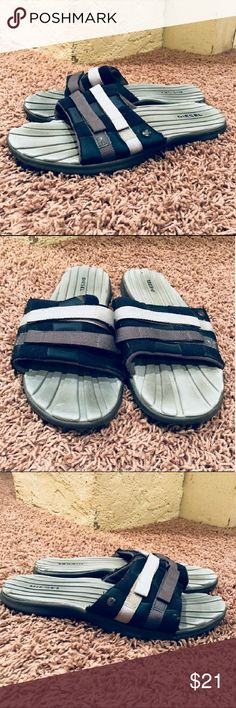 Mens Sz (10) Diesel Sandals EUC. These sandals have not been worn much and look as good as new. There isn't anything wrong with them and they are from a pet/smoke free home. Diesel Shoes Sandals & Flip-Flops