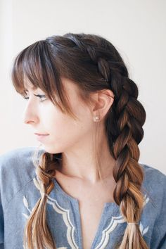 21 Most Vivacious Braids with Bangs to Look Super Cool - Haircuts & Hairstyles 2020
