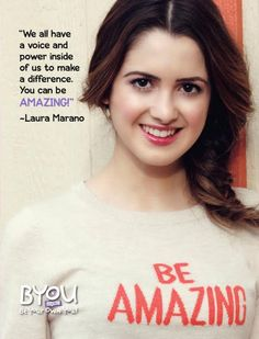 Laura Marano Talked About Her Charity Work And More With BYOU Magazine