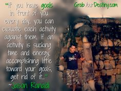 """From the relationships we create, to the hustle we put in to hit our goals, to the adversities we go through, to the failures that we learn from and grow, to the successes that shows us it was all worth it…life is an incredible thing to be a part of."" ~Jason Ranaldi  #Freedom #Lifestyle #Hustle #JasonAndMichelleRanaldi #GrabYourDestiny #entrepreneur #businesstips #networkmarketer #startup #Courage #OnlineBusiness #Leadership #Success #Mindset #business #Wealth #Travel #LaptopLifestyle #RTW"