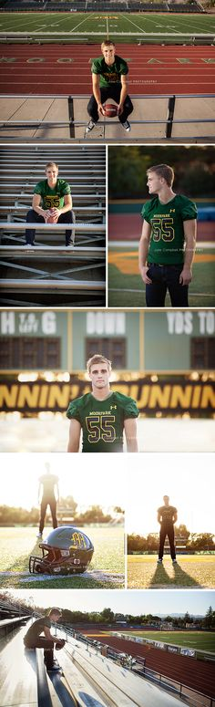 Senior Portraits | Football player | Ventura County, California