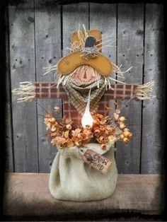 burlap scarecrow